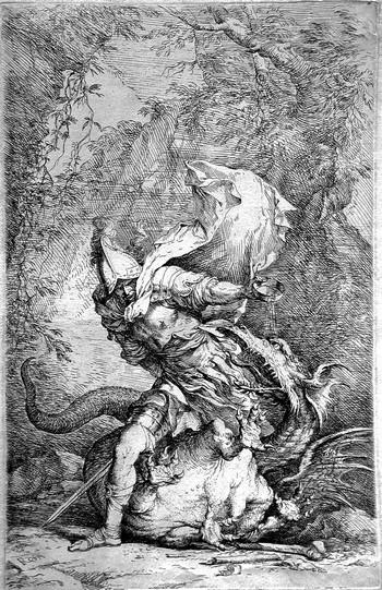 Rosa S; Giasone e il drago - 350