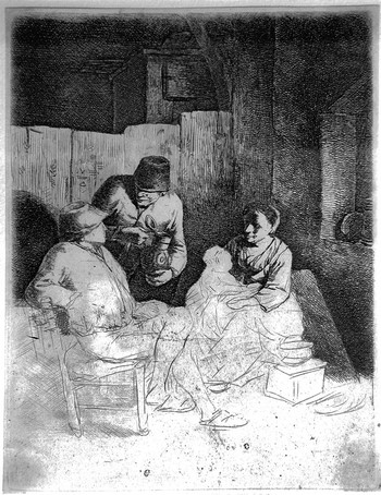 Bega CP; La madre seduta in una locanda - 350