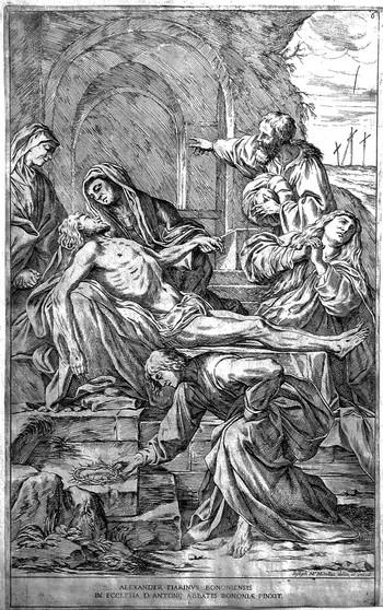 Mitelli GM; Cristo deposto dalla croce - 350