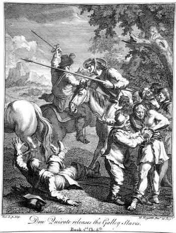 Hogart W; Don Chisciotte libera gli schiavi - 350