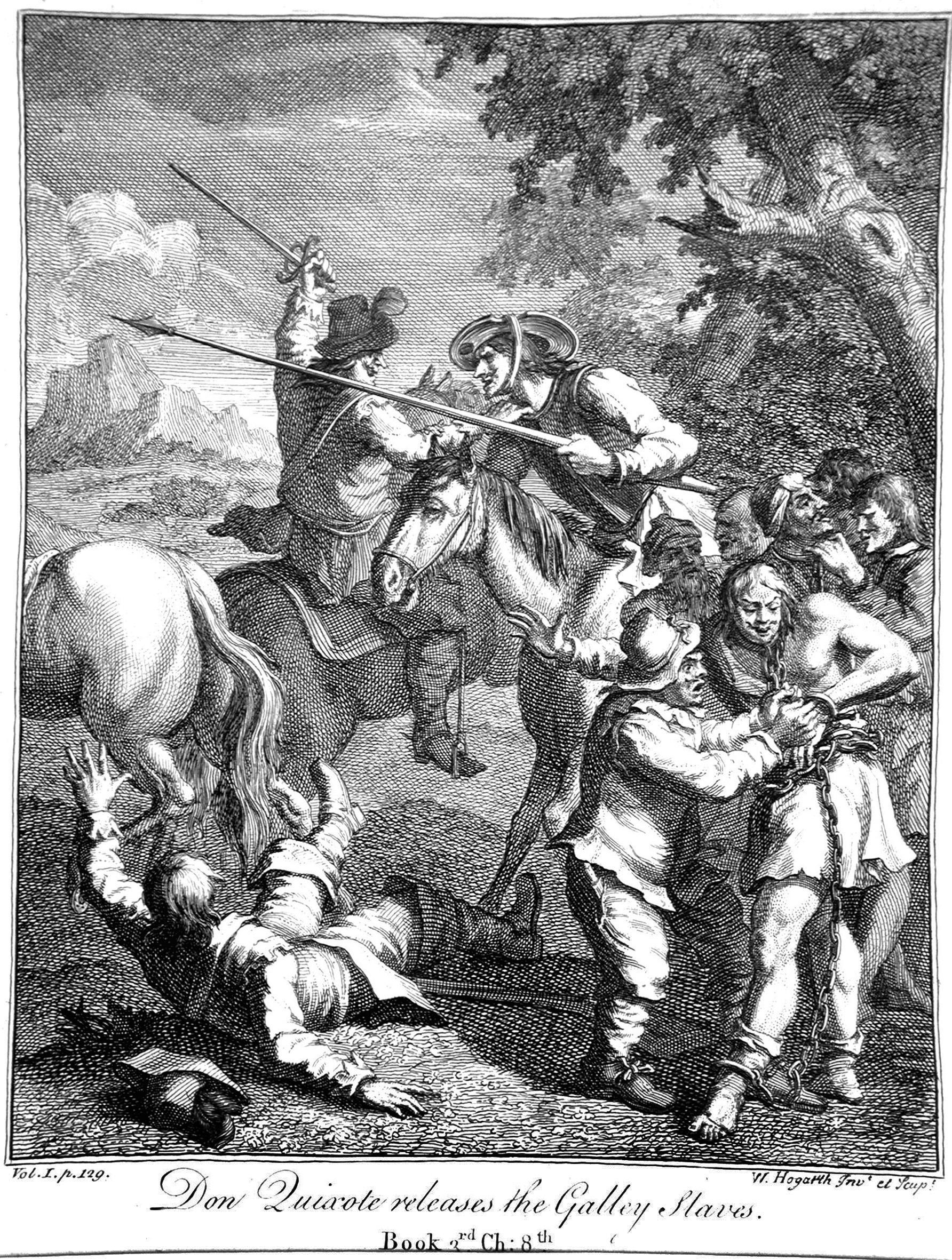Hogart W; Don Chisciotte libera gli schiavi
