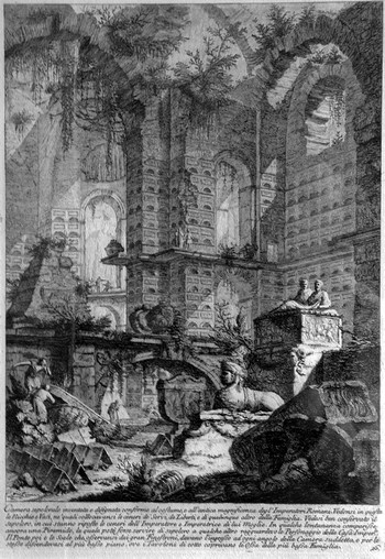 Piranesi GB; Camera sepolcrale - 350