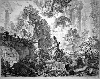 Piranesi GB; Vedute di Roma, Secondo frontespizio - 350