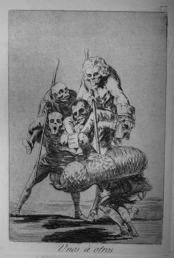 Goya F; Unos a otros - 350