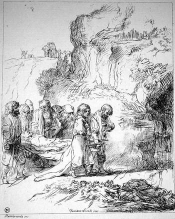 Novelli F; sepoltura di Cristo - 350