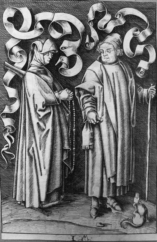 Van MECKENEM I; La coppia davanti alla chiesa
