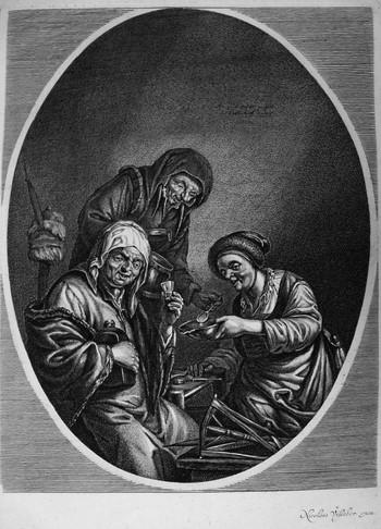 SUYDERHOEF Jonas; Le tre streghe - 350