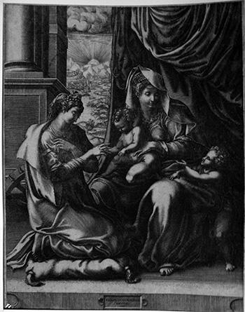 Ghisi G; Matrimonio S.ta Caterina - 350
