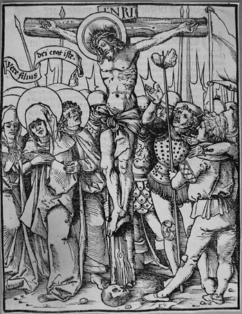 H.Wechtlin; Crocefissione - 350