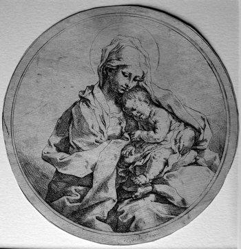 Reni G; Madonna col Bambino-350